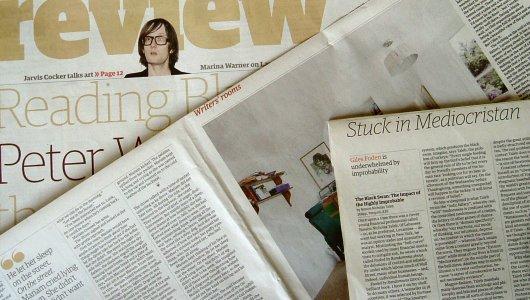 Newsflash: Virginia Woolf, Jimmy Hendrix, World Book Capital & Co.