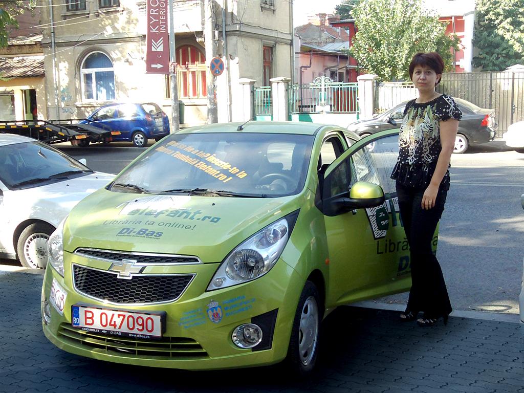 Mașina elefant.ro este în drum spre Iași