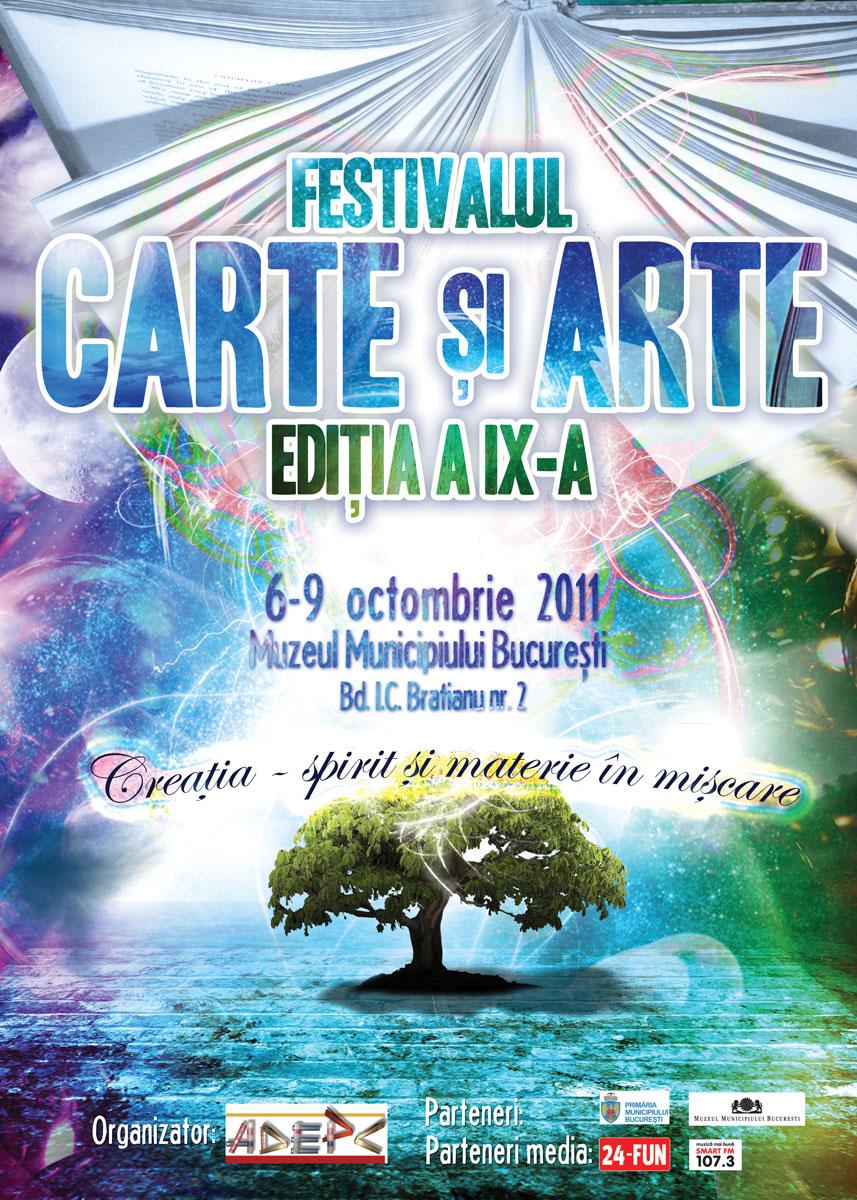 Festivalul Carte şi Arte, pentru bucureșteni