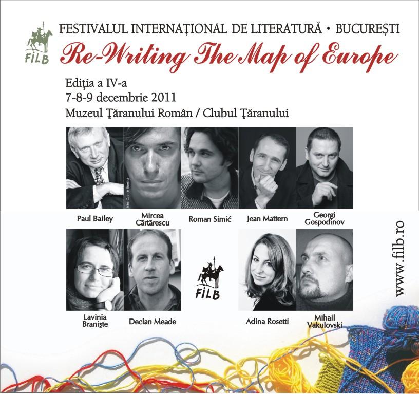 Evenimentul cultural al lunii: Festivalul Internaţional de Literatură de la Bucureşti
