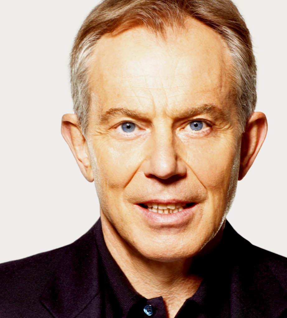 Călătoria politică a lui Tony Blair