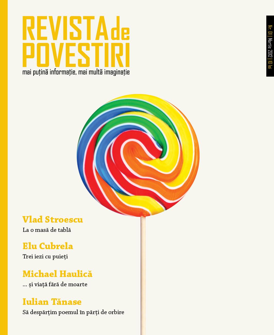 Se lansează Revista de Povestiri