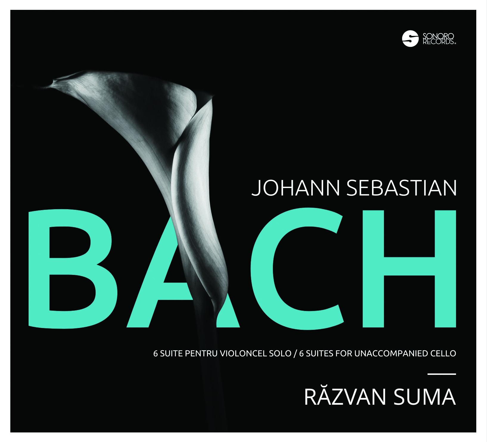 """CD eveniment:  """"BACH. Şase suite pentru violoncel solo"""" interpretate de Răzvan Suma"""
