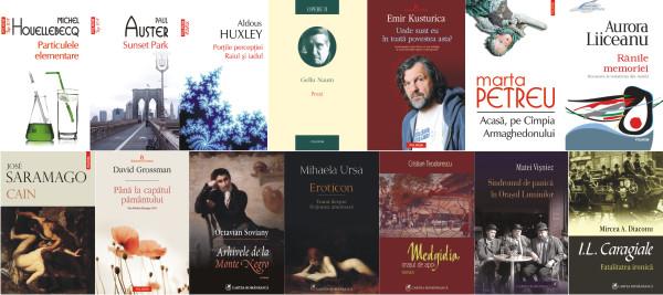 Bestsellerurile Polirom şi Cartea Românească la Bookfest 2012