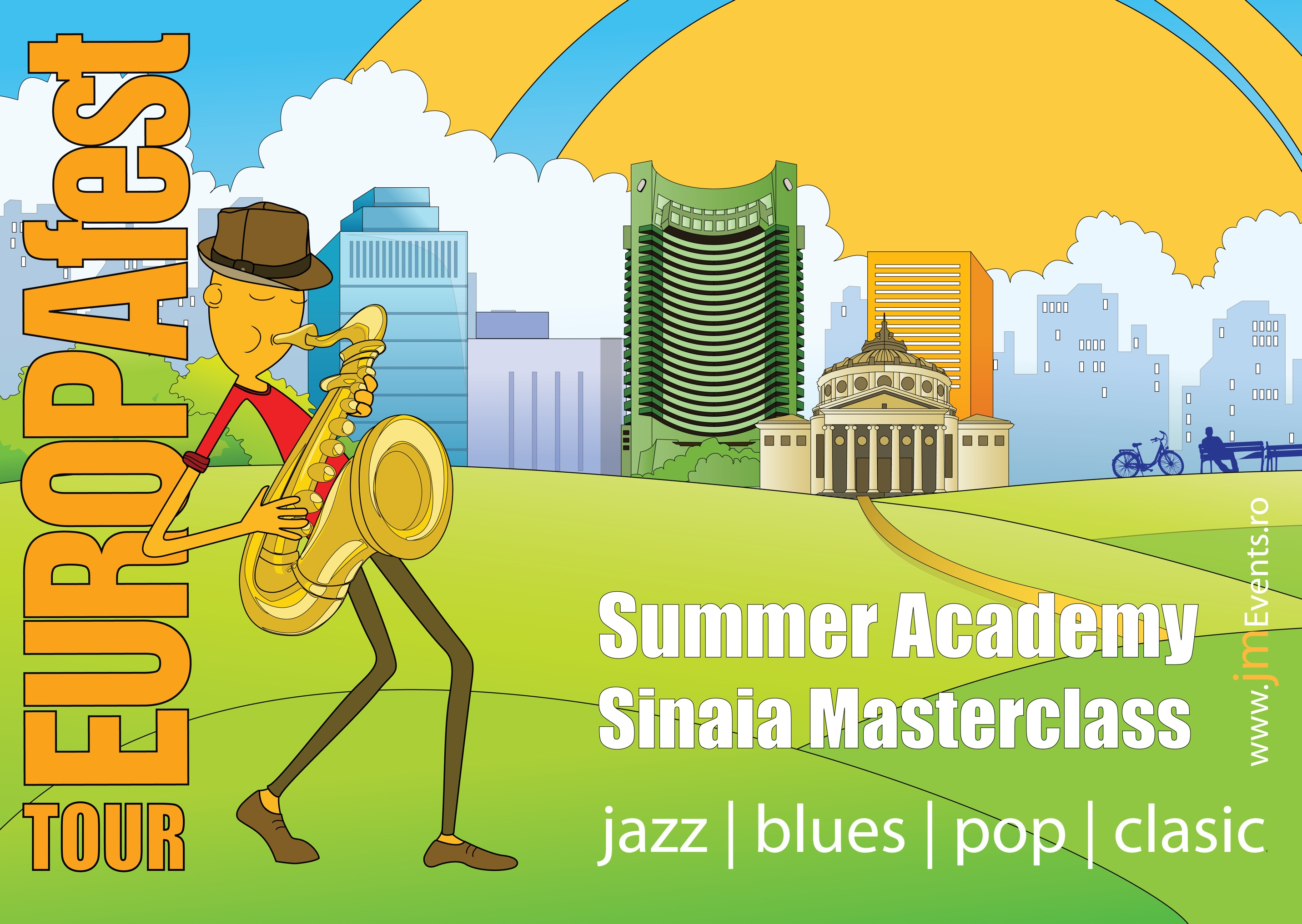 EUROPAfest Tour 2012 – Summer Academy la Sinaia