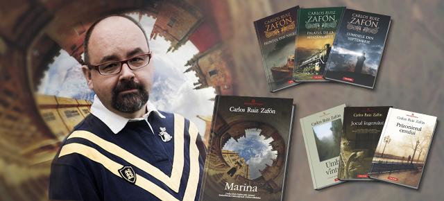 """Carlos Ruiz Zafon: """"Literatura e o națiune în sine, fără steaguri, alianțe sau granițe"""""""
