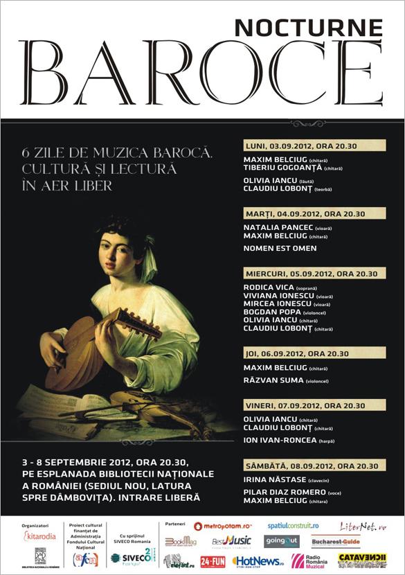 Nocturne baroce: Bach, Vivaldi, Scarlatti şi Händel pe malul Dâmboviţei
