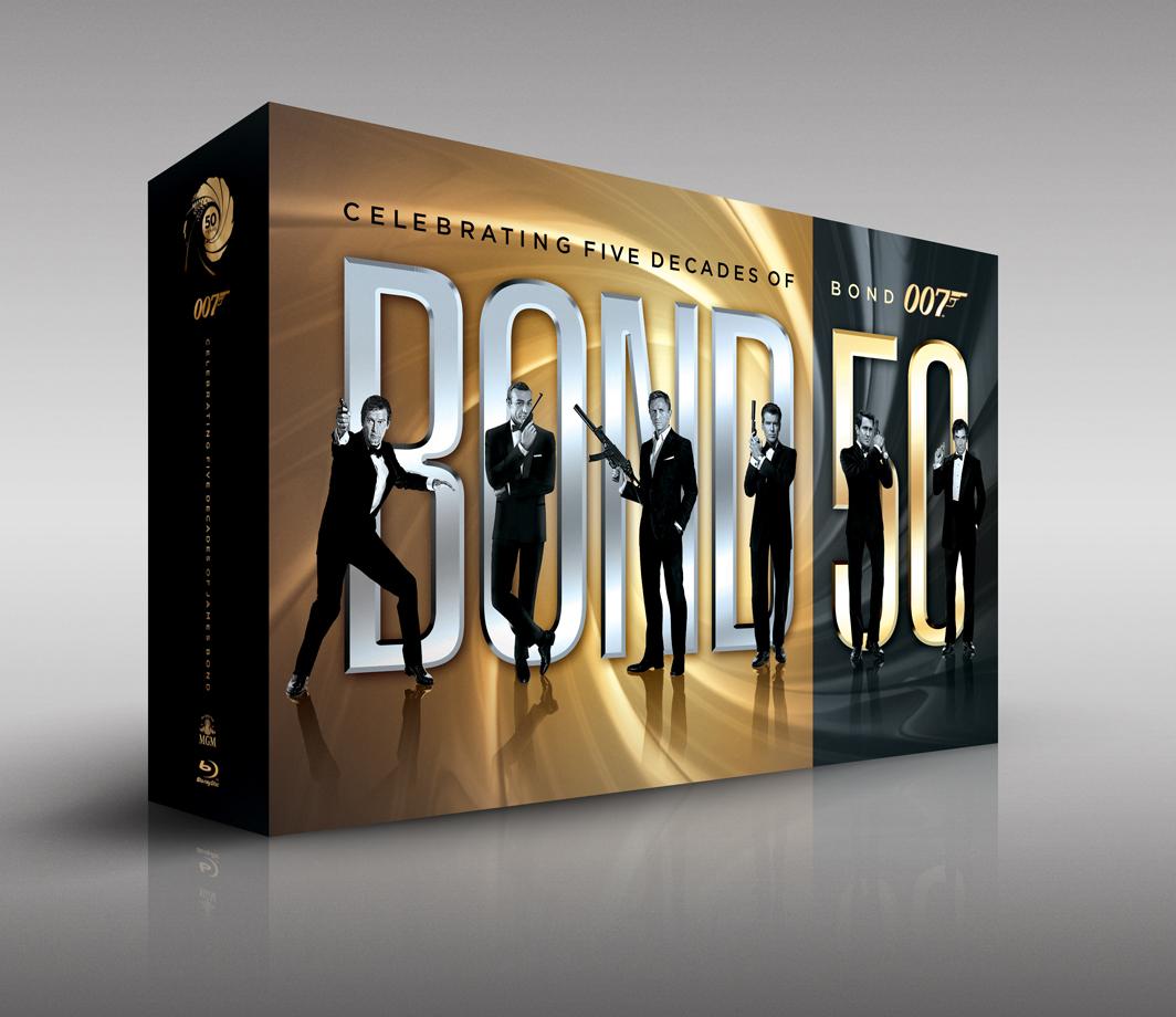 Sărbătorim 50 de ani de 007 cu o colecție explozivă pe Blu-ray: BOND 50!