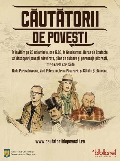 Gaudeamus 2012. Căutătorii de povești