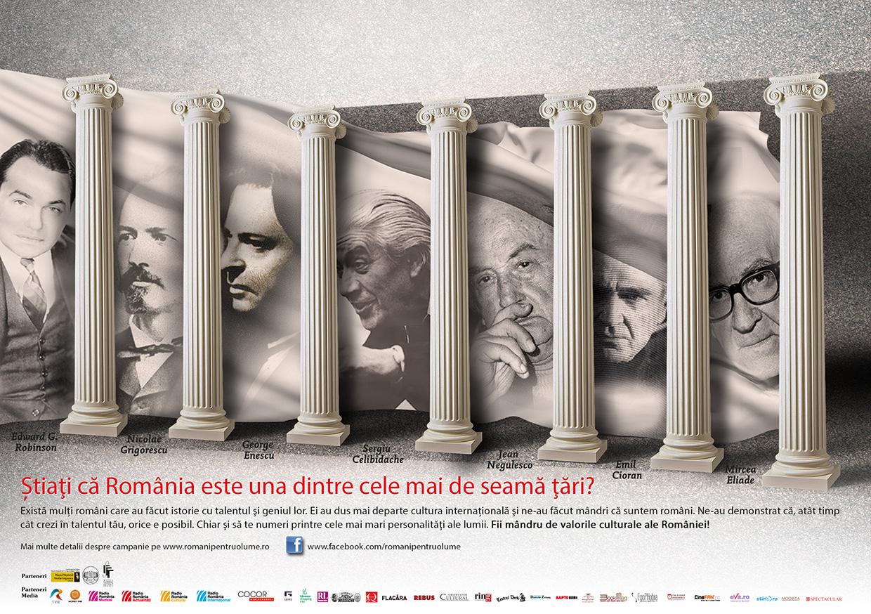"""S-a lansat campania """"Români pentru o lume""""!"""