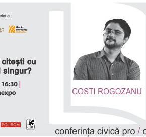 """Cel mai tare eveniment la Gaudeamus 2013, azi: dezbaterea """"Despre buna folosință a lecturii"""""""