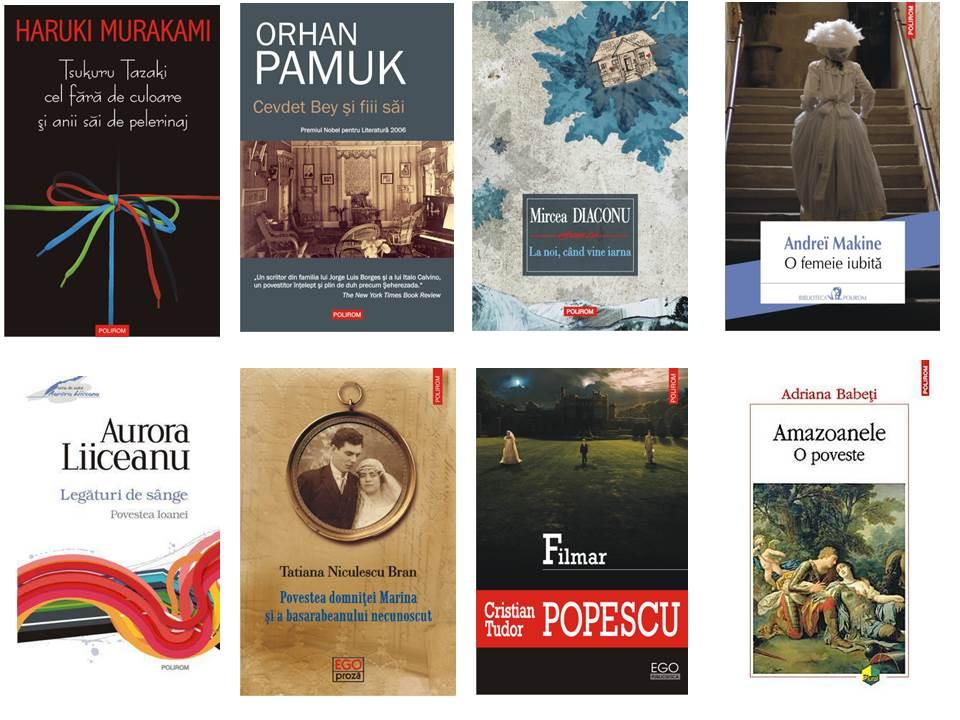 Noutăţile Polirom şi Cartea Românească la Gaudeamus 2013