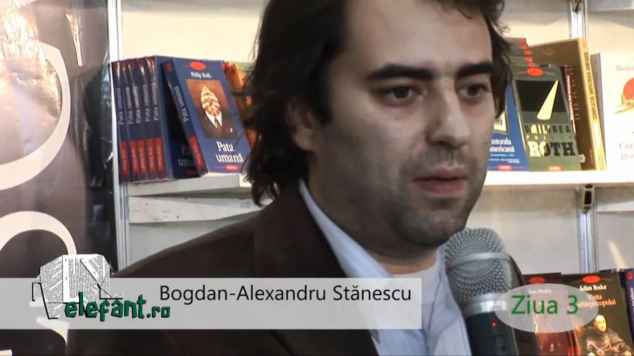 """Bogdan-Alexandru Stănescu: """"Îmi sunt mai dragi autorii care n-au avut succes, deși ar fi meritat-o cu prisosință"""""""