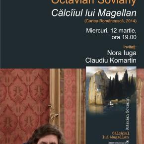 Octavian Soviany citeşte poezie la Bastilia