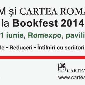 Evenimente Polirom și Cartea Românească la Bookfest 2014