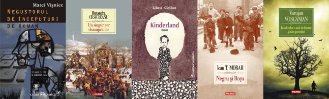 Nominalizările liceenilor ieşeni pentru Cea mai îndrăgită carte a anului 2013