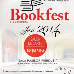 Salon de Carte Bookfest și o ministagiune muzicală, la FILIT 2014