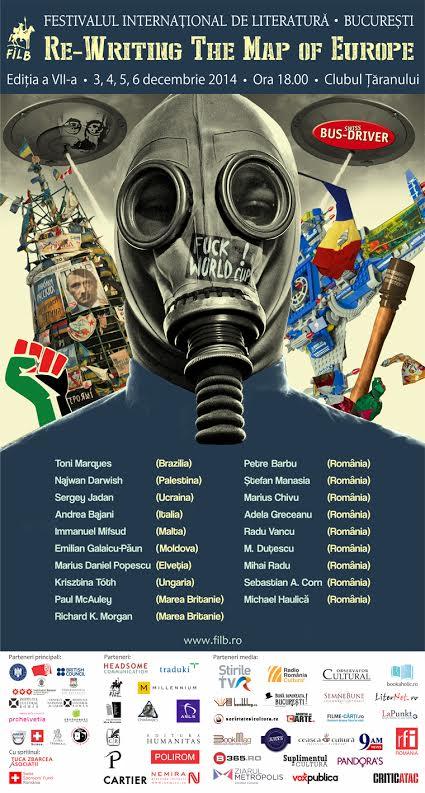 Immanuel Mifsud, laureatul Premiului Uniunii Europene pentru Literatură 2011, lectură publică la FILB 7