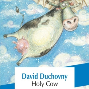 "Debutul literar al starului hollywoodian David Duchovny: ""Holy Cow"""