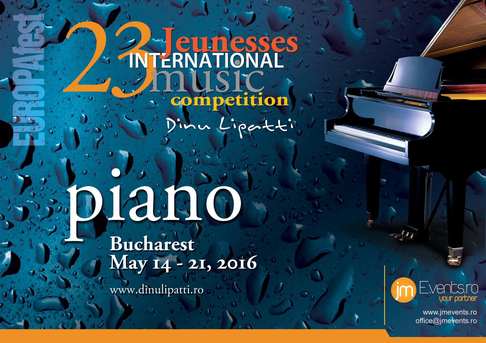 EUROPAfest – Jeunesses International Music Competition Dinu Lipatti