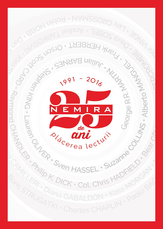 25 de ani Nemira: peste 20 de milioane de volume și 1500 de  autori prestigioși