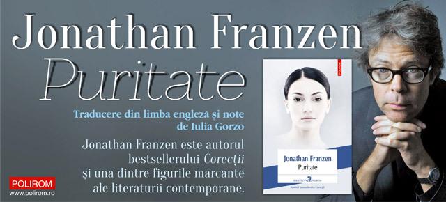 "Cartea verii: ""Puritate"" de Jonathan Franzen"