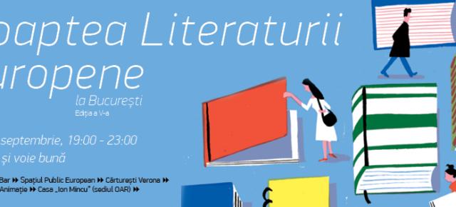 A cincea Noapte a Literaturii Europene la București