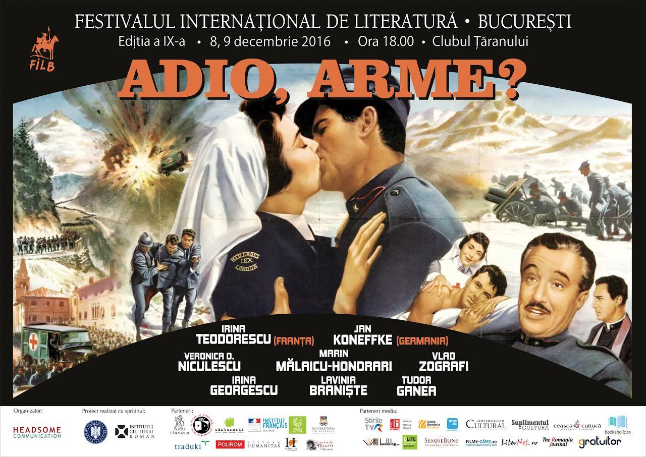 Ediție-bilanț a Festivalului Internațional de Literatură de la București
