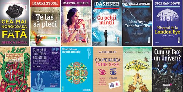 Cărți ecranizate, bestselleruri mondiale și reduceri la Gaudeamus 2016, de la Grupul Editorial Trei