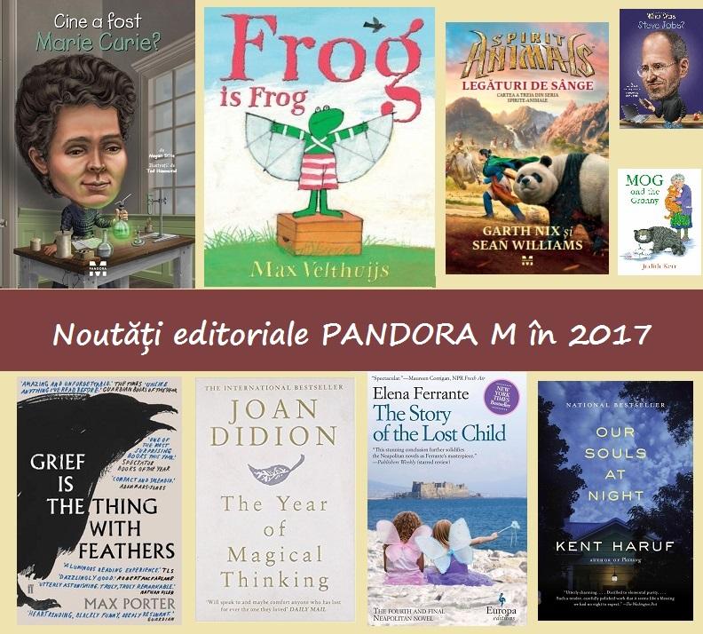 Noutăți la Pandora M în 2017