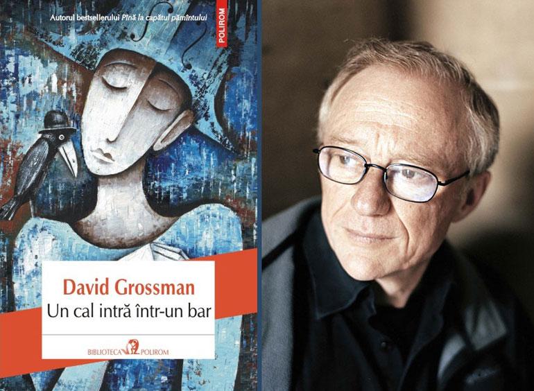 Un cal intră într-un bar, de David Grossman, a obținut Man Booker International Prize 2017
