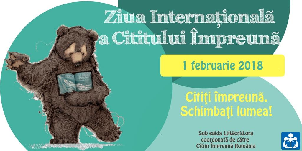 Ziua Internaţională a Cititului Împreună 2018