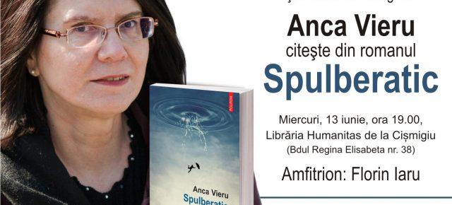 """Lectură publică la București: Anca Vieru, """"Spulberatic"""""""