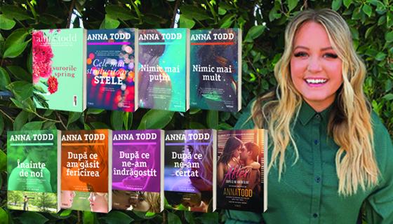 """Anna Todd: """"Nu vreau să creștem o generație de fete care se tem să discute despre sex ori să nu fie în stare să se apere"""""""